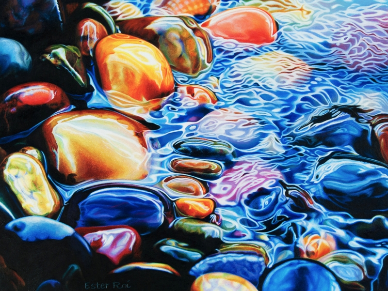 Artists Who Paint Stones Photorealism