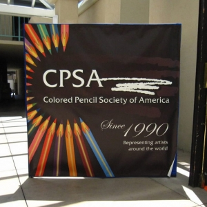 CPSA Sign at the Hospitality Suite