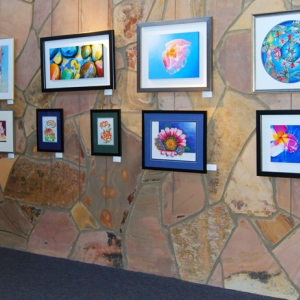 Artwork on display